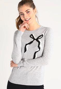 Banana Republic Sweter - light grey za 299 zł (07.12.16) zamów bezpłatnie na Zalando.pl.