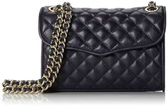 Rebecca Minkoff Mini Quilted Affair Cross-Body Bag,Ink,One Size