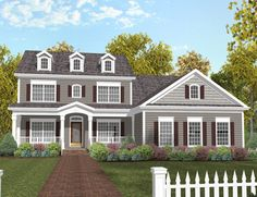 Cozy Porch and In-Law Suite - 20029GA | Colonial, Farmhouse, Traditional, 2nd Floor Master Suite, CAD Available, Den-Office-Library-Study, MBR Sitting Area, PDF, Corner Lot | Architectural Designs