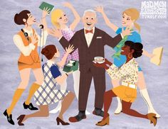 ... Mad Men is Back, and It's Getting Illustrated ...