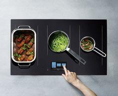 Induktionsherd Kochen mit Power und Flexibilität