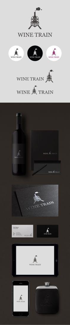 Wine Train (Logo Design By Conoi)