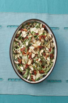 Try This Green Bean-Mushroom Casserole With Candied Bacon for Thanksgivingthepioneerwoman Grilled Green Beans, Parmesan Green Beans, Green Beans With Bacon, Green Bean Dishes, Green Bean Recipes, Mushroom Casserole, Green Bean Casserole, Thanksgiving Side Dishes, Thanksgiving Recipes