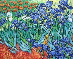 Hand Painted Oil Painting On Canvas Impression Irises By Van Gogh Wall Decor Vincent Van Gogh, Pablo Picasso, Van Gogh Arte, Van Gogh Pinturas, Van Gogh Paintings, Art Van, Classic Paintings, Oil Painting On Canvas, Painting Art