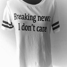 New shirt Black n white statement tee never worn Tops Tees - Short Sleeve