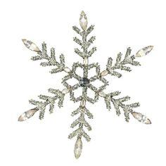 Weihnachten Dekorationen Silber geschliffenem Glas Perlen Schneeflocke mit Strass Weihnachten Ornamente 2er Satz von ShalinCraft, http://www.amazon.de/dp/B009KZBBPE/ref=cm_sw_r_pi_dp_YchOsb08TC1YP