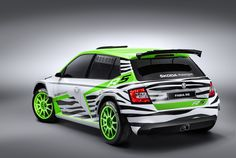 """""""It's nice, but it sure would look better as a rally car"""" was pretty much our take on the 2015 Skoda Fabia. Lo and behold, Skoda took our advice and suited up its Volkswagen Polo-based subcompact for rally duty. With zebra stripes! Skoda Fabia, Classic Sports Cars, Rally Car, Car Wrap, Amazing Cars, Motor Car, Custom Cars, Concept Cars, Cars Motorcycles"""