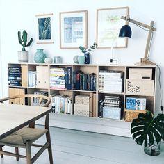 En gammel kabeltromle som spisebord, Wegnerstole, genbrugsfund og diy-projekter i et stort miks - samlet i en murermestervilla i Fredericia. Tag med ind i Anne Romedahls verden, som er denne uges instagrammer.