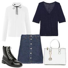 903e1c883723 Il mio stile  outfit donna Basic per tutti i giorni