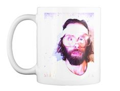Beardo Prime White T-Shirt Front OH SO SEXY MUG