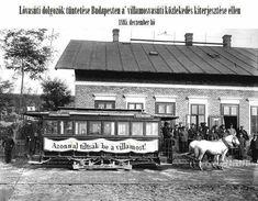 Lóvasúti megállóhely a Közvágóhídnál az években - Budapest Anno Old Pictures, Old Photos, Budapest Hungary, Historical Photos, Techno, Gazebo, Outdoor Structures, Horses, History