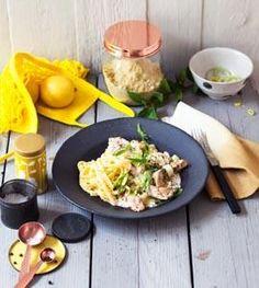 Hähnchengeschnetzeltes mit Senfrahm und Spätzle