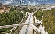 The Braided Valley River Park by Grupo Aranea in Spain
