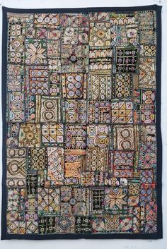 Items similar to Vintage ethnic Tribal wall Hanging, Boho Patchwork Tapestry, Old Hand embroidered Wall Decor, Gypsy home decor, Indian Tapestry on Etsy Embroidery Designs, Embroidery Applique, Textile Fiber Art, Textile Artists, Gypsy Home Decor, Boho Decor, Weaving Textiles, Paper Weaving, Indian Tapestry