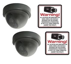 "VAS #2706 Mini Dome Dummy Camera w Motion Activated Blinking LED w (2) #140 Decal by VAS First Response. $13.75. Product Description: #2706 Now you can deter robbery, theft, and vandalism without the high cost of a real security camera. The 70 Series is an actual dome surveillance camera that has been modified into a ""dummy"" or fake security camera. It is designed to imitate the small, high tech security cameras on the market today. When placed in your home or busi..."