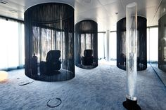 The Team Bank, leading German consumer credit expert, recently moved into their new HQ in Nuremberg with ov. Relaxation Room, Relax Room, Workplace, Meet, Create, Design, Home Decor, Architecture, Projects