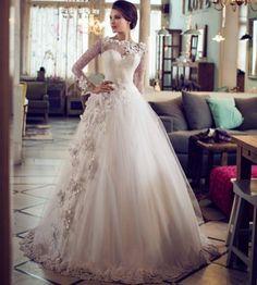 Muslim-wedding-dresses-23 46 Fabulous Wedding Dresses for Muslim Brides 2016