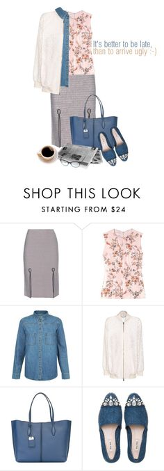 """Summer Mornings"" by womanofacertainedge ❤ liked on Polyvore featuring Alexander Wang, STELLA McCARTNEY, New Look, Tod's, Miu Miu, Kate Spade and bomberjackets"