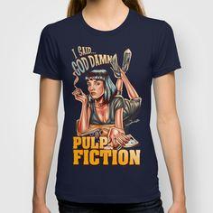 Mia Wallace - Pulp Fiction T-shirt