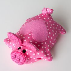 Cute little beanbag but no pattern for this one.