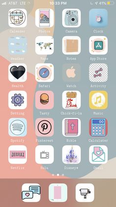 Iphone Home Screen Layout, Iphone App Layout, Iphone App Design, Ios Design, App Icon Design, Iphone Wallpaper App, Cute Wallpaper For Phone, Aesthetic Iphone Wallpaper, Iphone Life Hacks