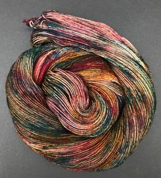 Lottie Hand dyed yarn sock weight Superwash Merino 463