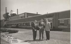 Corning Glassworks factory. My Dad worked there in the 1950s and 60s