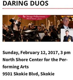 Valentine's Day 2017! The Chicago Philharmonic explores the astonishing lengths that people will go to for love ❤️ #chicago #vday2017goals #music #love #theatticat #concerts