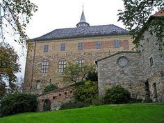 akershus medieval castle.. akershus fortress.. oslo, norway