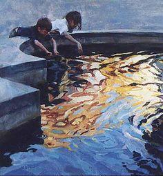 Golden Reflections, Scott #Burdick