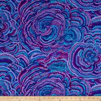 Philip Jacobs Tree Fungi Lavender from Designed by Philip Jacobs… Diy Design, Fabric Design, Pattern Design, Aqua Fabric, Wall Fabric, Free Spirit Fabrics, Quilt Material, Crazy Colour, Color