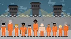 Mass Incarceration with Hank Green by Philipp Dettmer, via Behance
