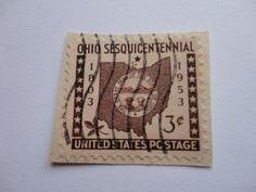 1803-1953 Ohio Sesquicentennial U.S. Postage Stamp.