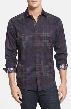 Robert Graham 'Salvation' Classic Fit Sport Shirt available at #Nordstrom