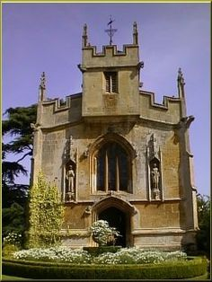 chapel in the Cotswolds, England