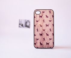 iPhone 4 Case  iPhone 4s Case   Cat iPhone by TheCaseOfMrPelham