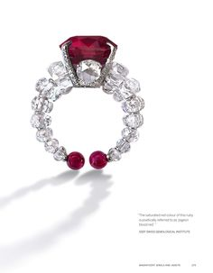 BAGHAT | Ruby and Diamond Ring |