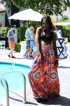 Pin for Later: Die schönsten Hippie Looks und Festival-Fashion bei Coachella Coachella Street Style