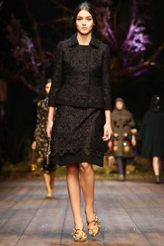 Dolce And Gabbana Ready To Wear Collection Fall Winter 2014 Milan