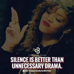 I mantain military silence, so they never kno what ur truly thinking #Erica Jane