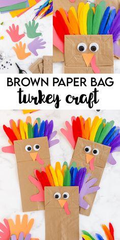 Paper Bag Turkey Craft