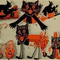 Dennison's Bogie Halloween Book from 1920, free online.