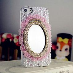 Aynalı telefon kabı