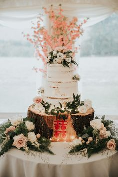 A beautiful semi naked style buttercream cake with real fresh seasonal floral detailing. Cupcake Cakes, Cupcakes, Buttercream Wedding Cake, Cakepops, Favours, Fondant, Special Occasion, Wedding Cakes, Naked
