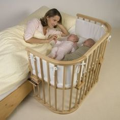 Babybay 165,101 - Maxi, varnished with bumper and mattress know: Amazon.de: Baby