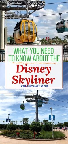 There are some things you should know about Disney Skyliner before you visit Walt Disney World. Here are five important Disney Skyliner facts. Disney World Florida, Walt Disney World Vacations, Disney World Resorts, Disney Cruise, Disney Parks, Disney Travel, Vacation Travel, Travel Goals, Travel Usa