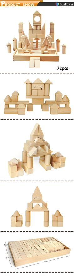 Wooden building blocks /Educational toys