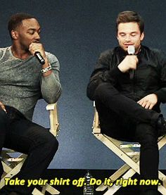 Why Sebastian Stan And Anthony Mackie's Newfound Bromance Needs Your Undivided Attention