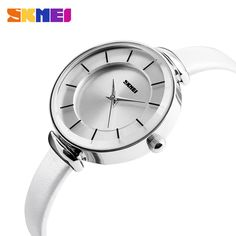 Fancy Ladies Hand Watches Genuine Leather Japan Quartz Watch From Skmei Factory