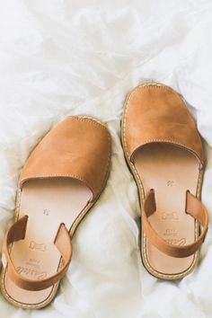 Brown leather sandals | #sandals #summer #summerstyle
